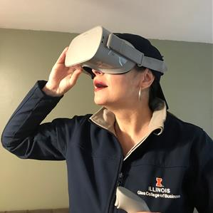 Gies Professor Using Virtual Reality to Make 'Tax' Less Taxing for Students